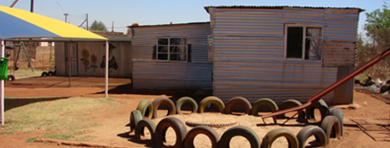 Playground at Orange Farm Human Rights Advice Centre