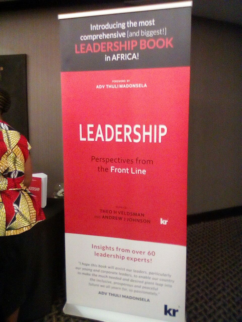 Leadership:  Perspectives from the frontline:  Essential reading for every leader